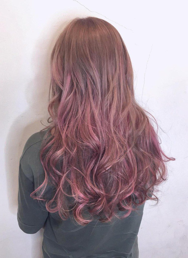 髮型創作/M2創意美髮沙龍 / Kobe嘉威,圖/StyleMap美配提供