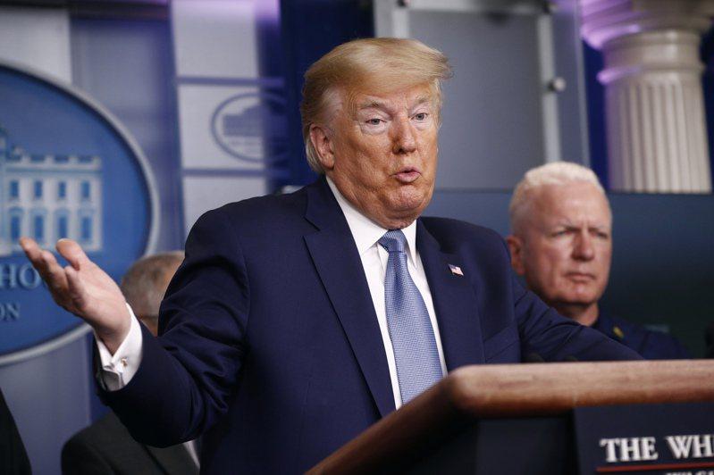 美國總統川普21日再次批評中國大陸隱匿疫情,連累美國。美聯社