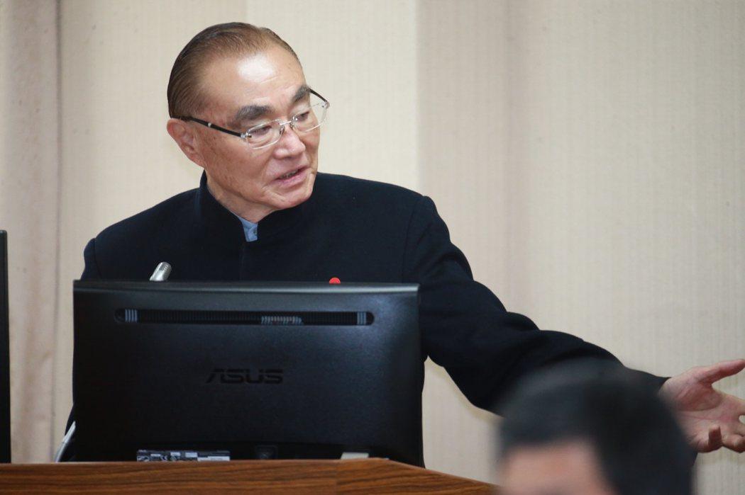 退輔會主委馮世寬(圖)。 圖/聯合報系資料照片