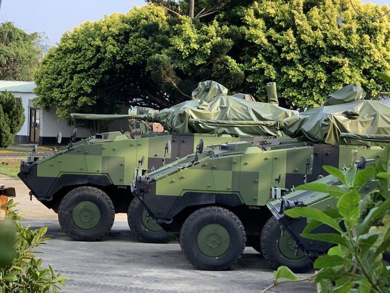 今年漢光36號演習「淡水河反突擊、反滲透實兵演練」將驗證淡水河口CM34 30公厘機砲戰鬥車部署效能。圖/本報資料照