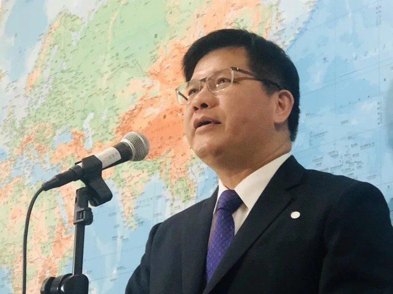 交通部長林佳龍。報系資料照