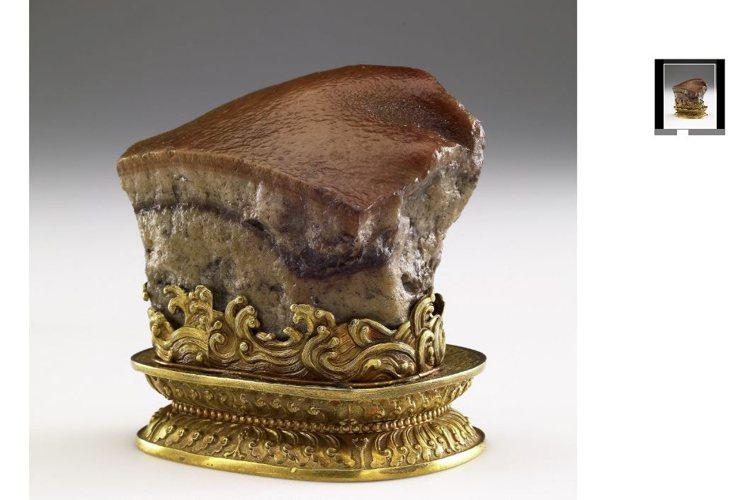 故宮三寶之一的「肉形石」,同樣可在Google Arts & Culture上欣...