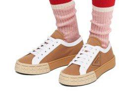 2020春夏精品運動鞋盤點!PRADA餅乾鞋、LV薄荷綠老爹雨鞋、GUCCI米奇帆布鞋 全都好想要