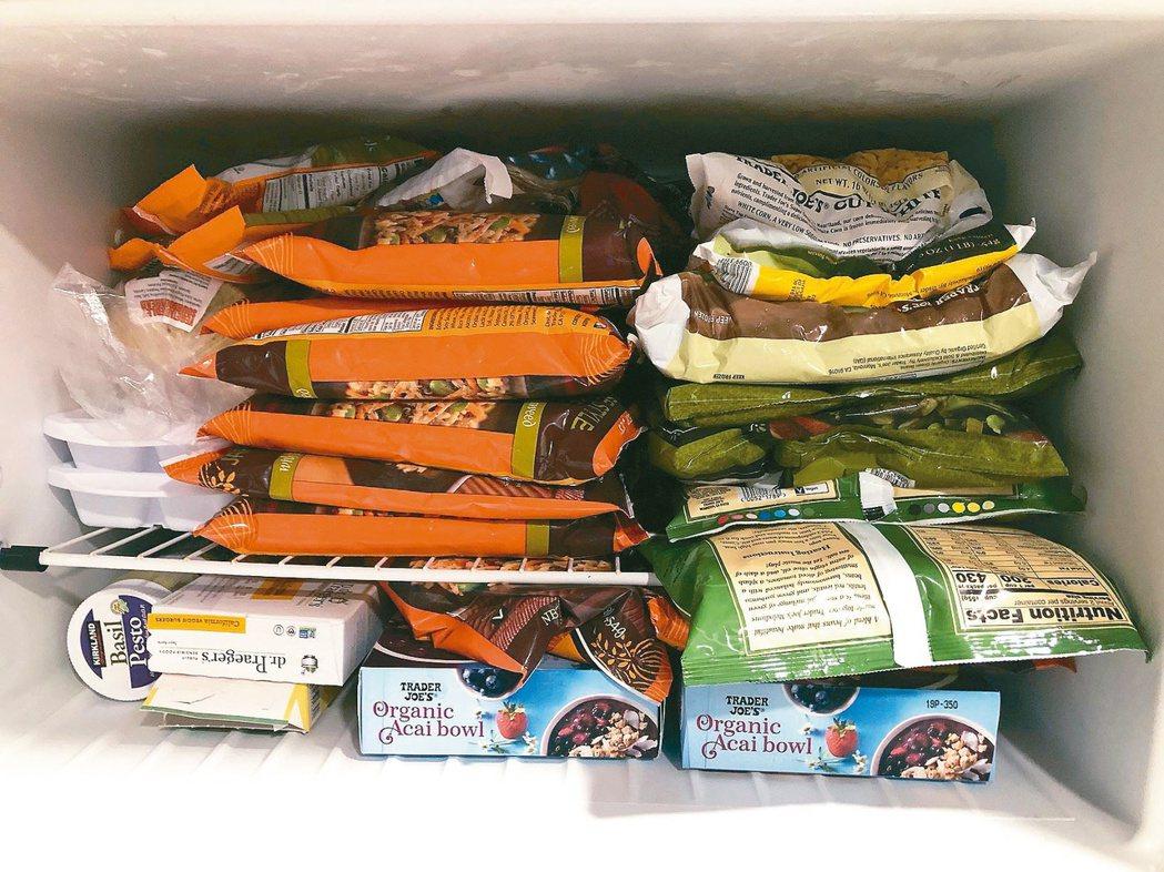 美國加州政府要求民眾非必要不得出門,旅美工程師凱文囤積冷凍食品,準備長期抗戰。 ...