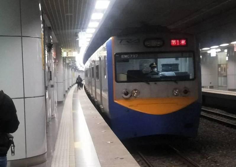 因應新冠肺炎疫情,台鐵局宣布已購買32台紅外線測溫儀,34個車站4月1日起實施進站旅客量測體溫。本報資料照