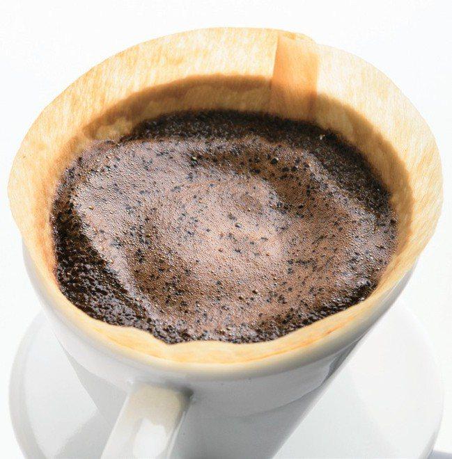 大多數的咖啡成份都是要到第三次注水才會完全萃取出來。 幸福文化提供