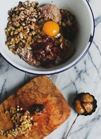 栗子代表著冬季、也代表著節慶,在聖誕節才上桌的盛大料理。 圖/幸福文化提供