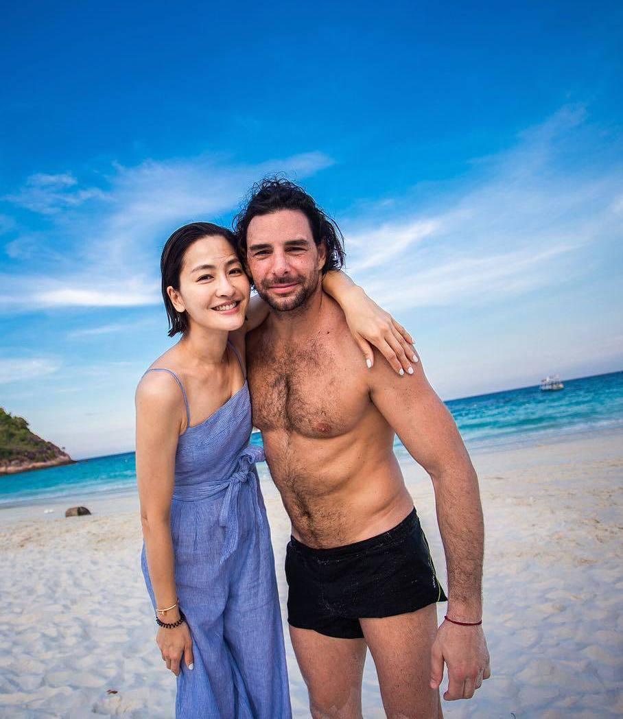 周汶錡與法籍老公Julien結婚7年。 圖/擷自周汶錡IG