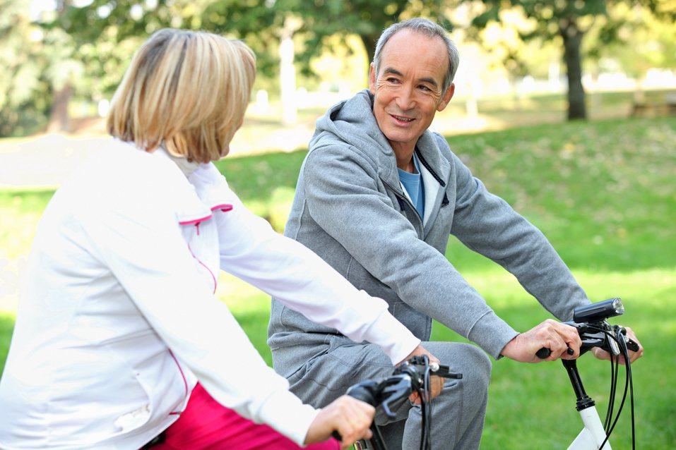 熟齡運動示意圖。圖片來源/ingimage