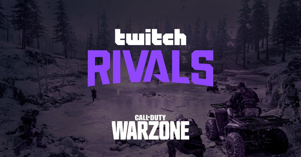 「TwitchRivals Call of Duty®:Warzone」將在3月...