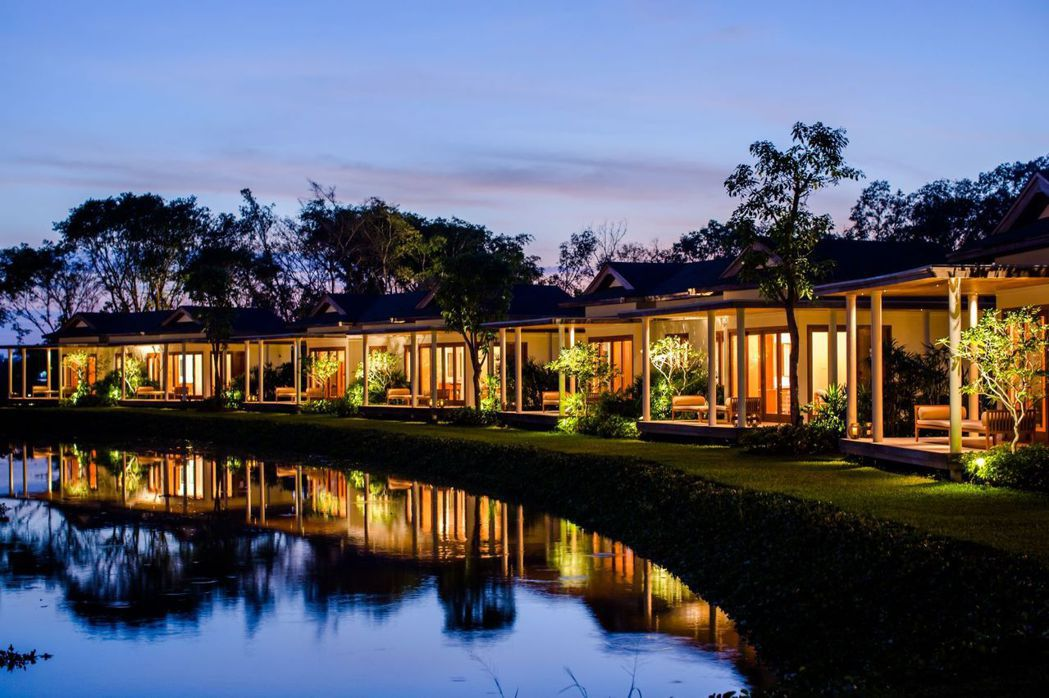越南芹苴Azerai酒店豪奢恬靜的一隅。  台灣銷售代表處/提供