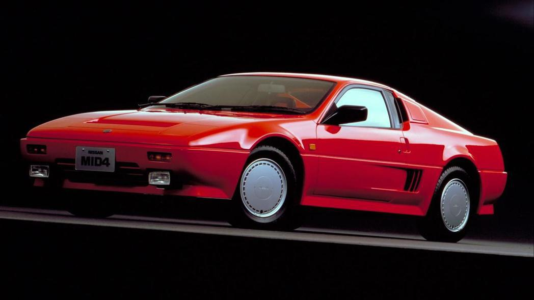 Nissan MID-4 Concept。 摘自Nissan
