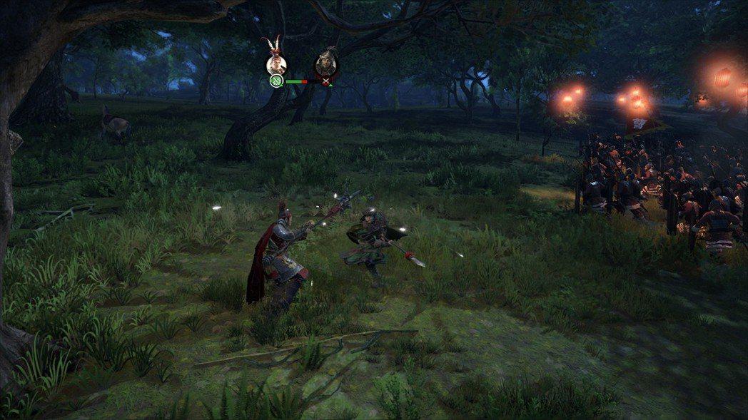 呂布在演義模式下就是強無敵,玩家可以盡情感受使用呂布廝殺戰場的爽快感。