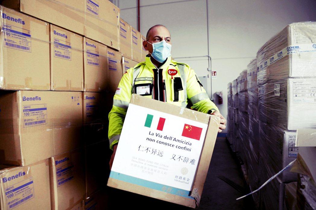義大利駐布魯塞爾大使控訴:沒有成員國在義大利向歐盟求助時,提供醫療防護裝備馳援,...