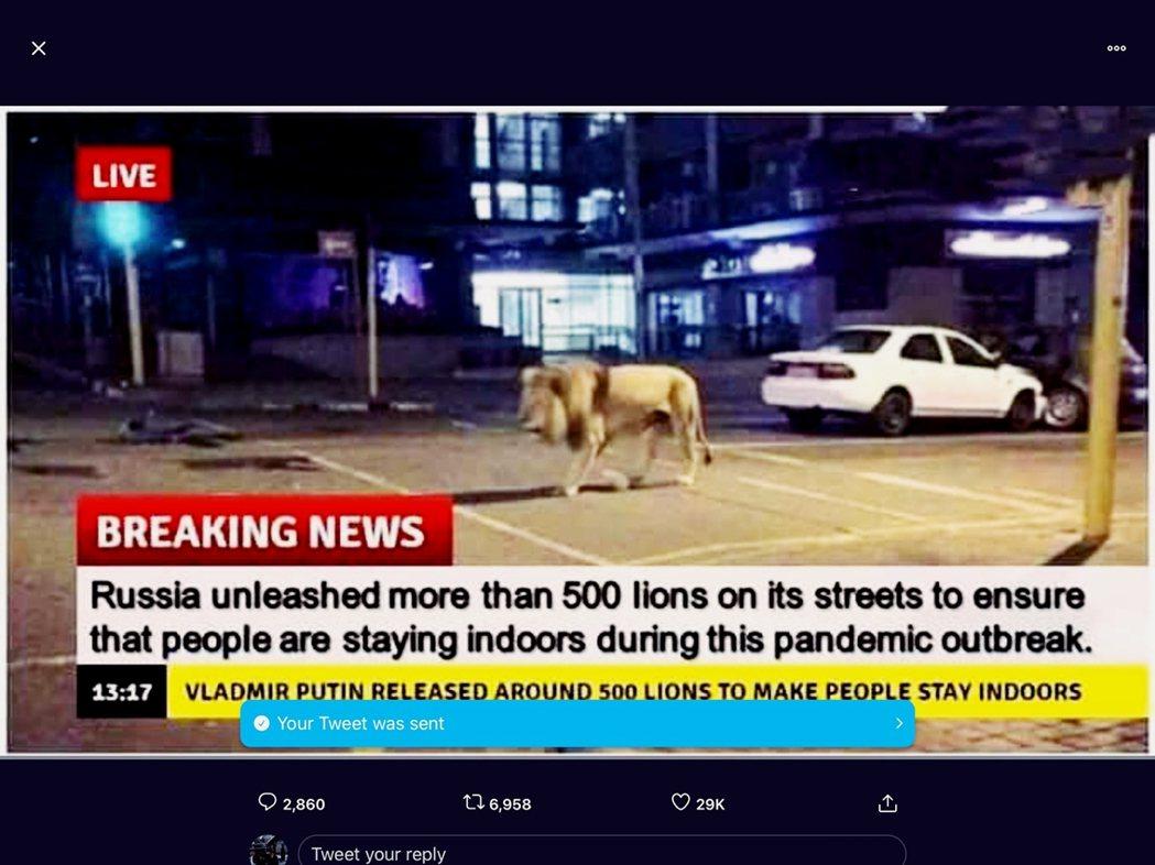 網路上以訛傳訛的現象,同時成為假新聞的破口,#Covidiots系列推文亦不乏轉...