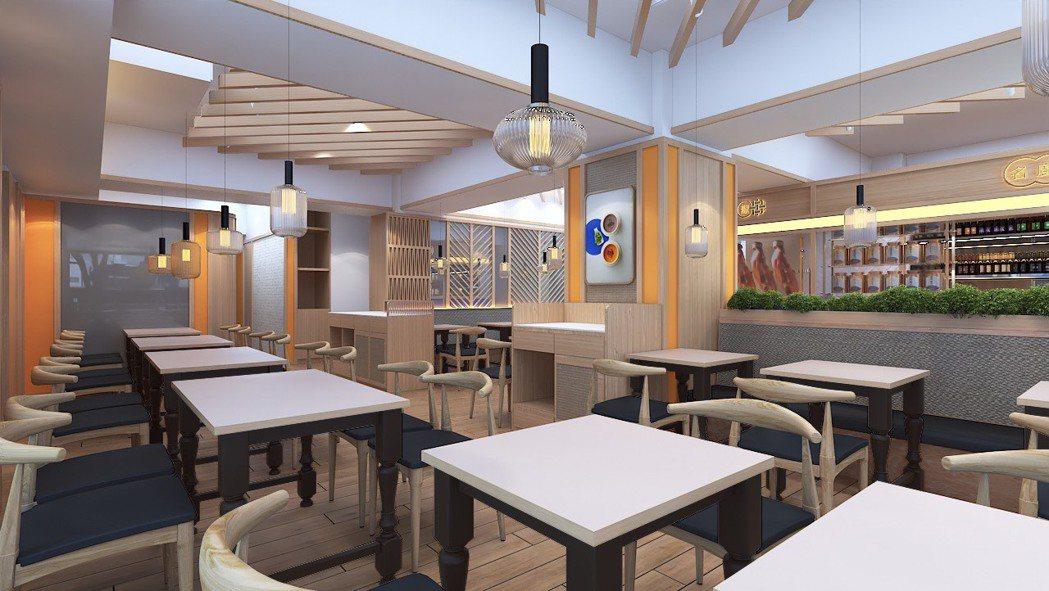 「點8號」全新開幕的光復店於3月21日隆重登場,為搭配全新裝潢,以時尚明亮的用餐...