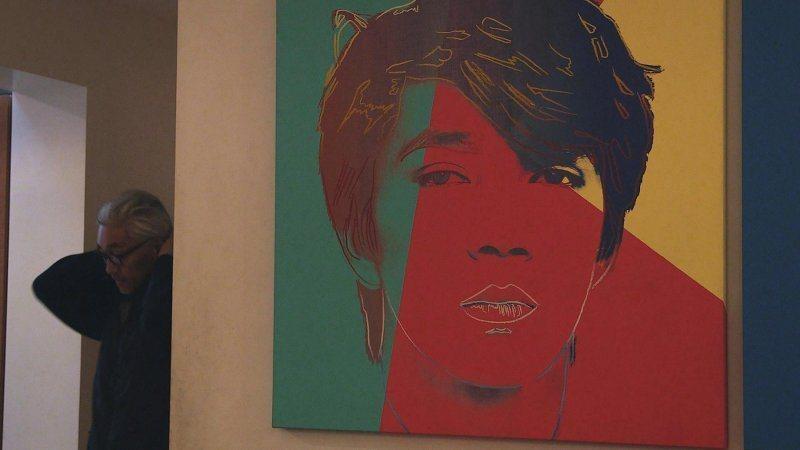 坂本龍一年輕時的一幅畫作@Yahoo!電影
