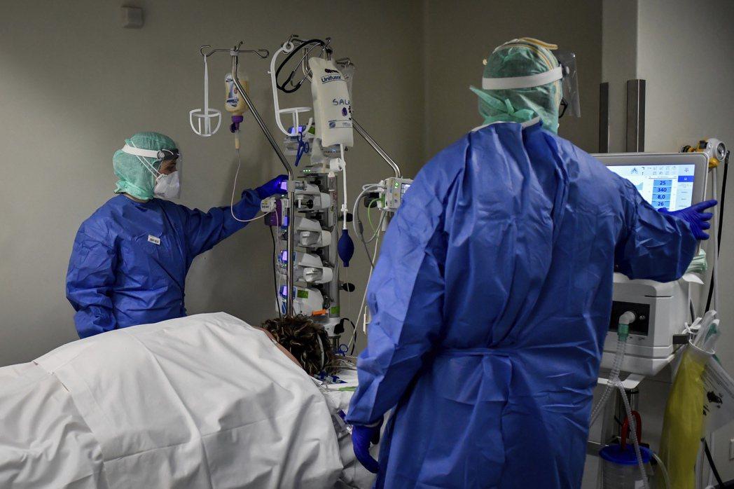 義大利新冠肺炎疫情嚴重。美聯社