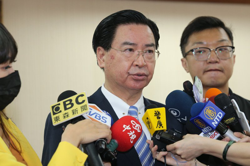 外交部長吳釗燮。 記者林伯東/攝影