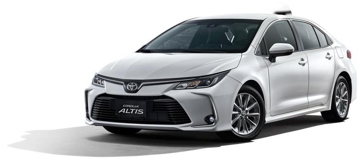 價值68萬的TOYOTA COROLLA ALTIS汽車。圖/京站提供