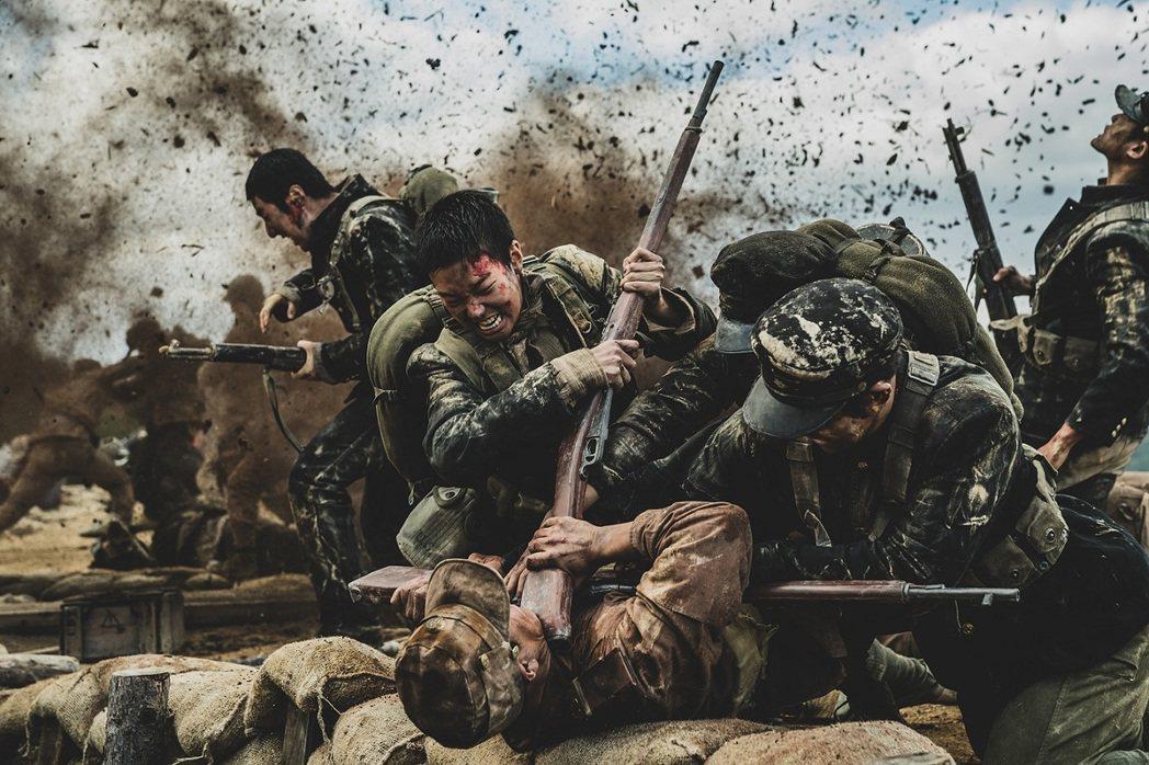 「長沙里之戰:被遺忘的英雄」是真實歷史事件改編。圖/車庫娛樂提供