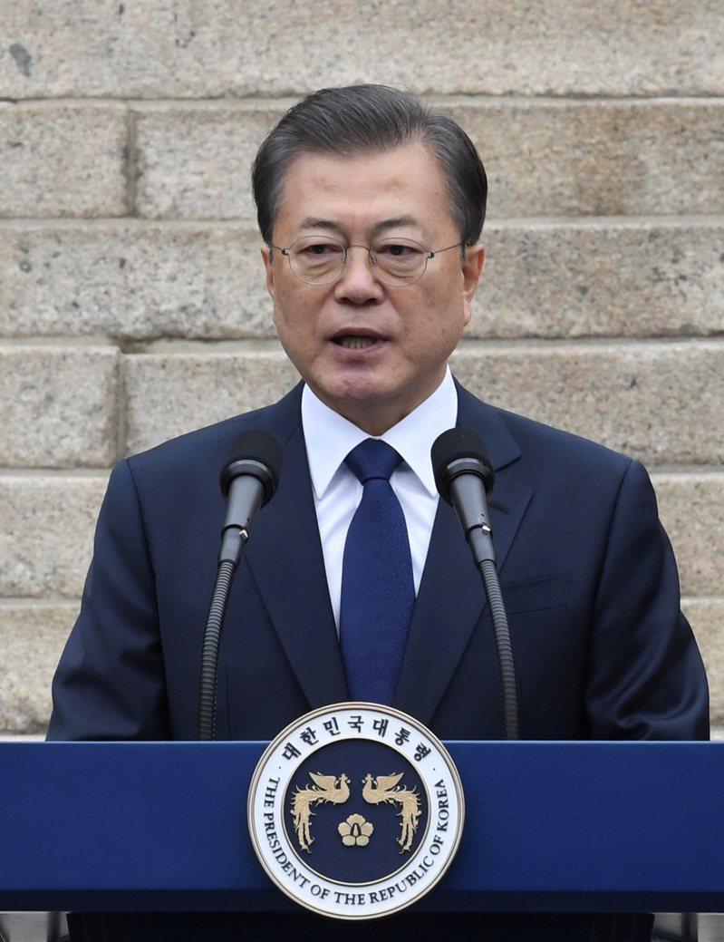 南韓總統文在寅。(路透)