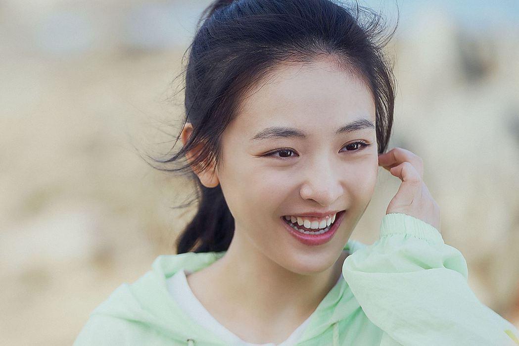吳倩飾演速滑少女棠雪。圖/LINE TV提供