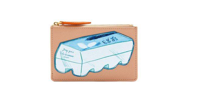雞蛋盒零錢包,3,780元。 圖/LULU GUINNESS提供