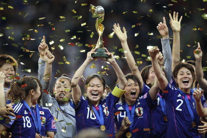 日本女足隊。 美聯社