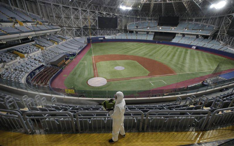 韓國職棒延至4月20日開打。 美聯社