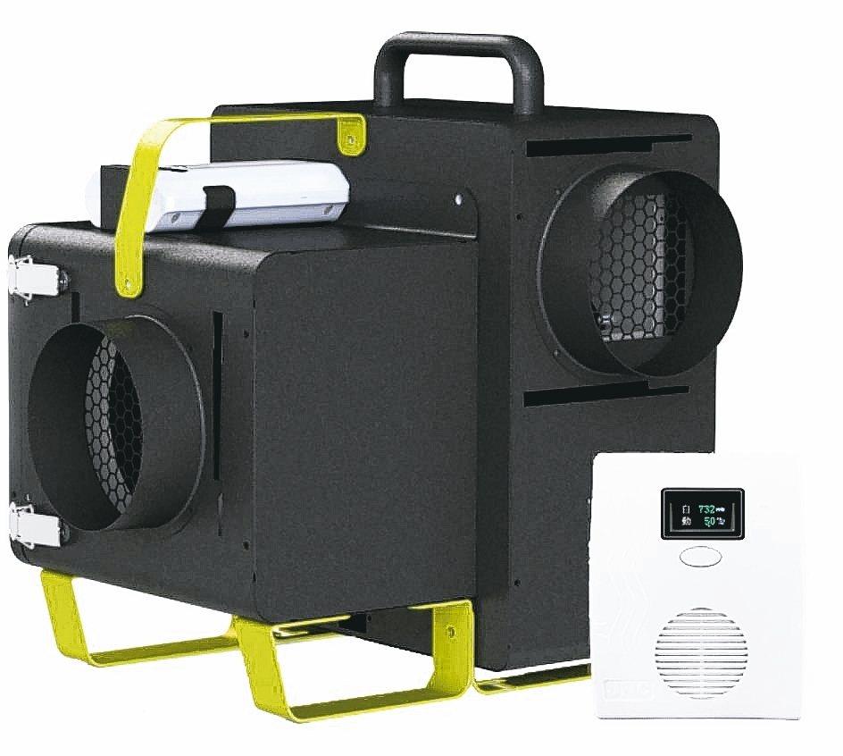 「綠新風套組G6S」為生活空間建立最佳防護網,室內保持清新好空氣。 銘祥/提供