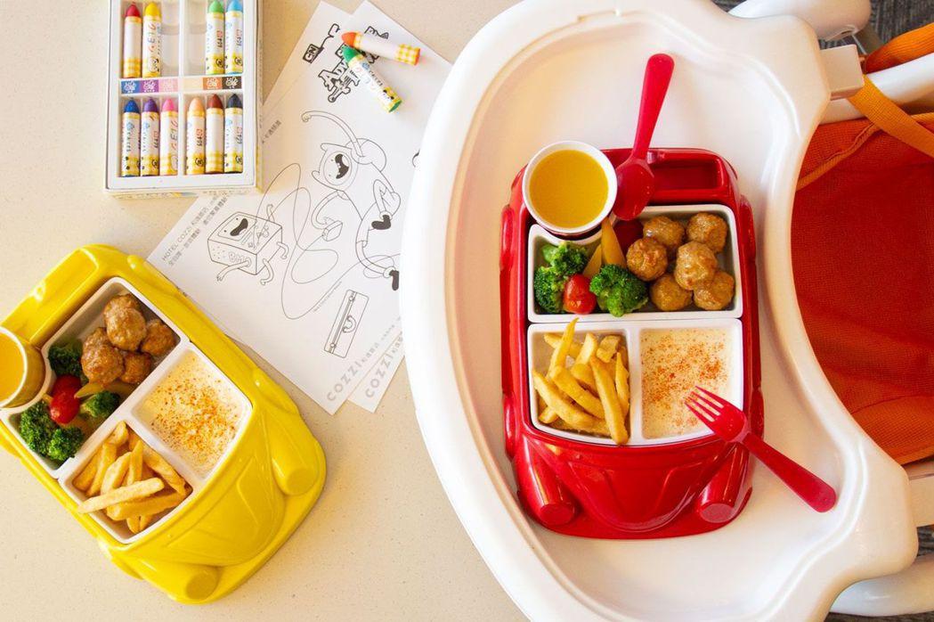 和逸飯店台南西門館兒童節連假限定奇趣BUBU兒童餐。  和逸飯店 提供