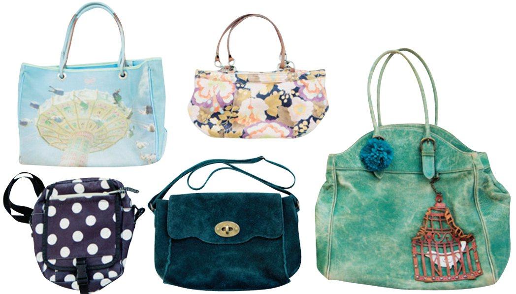 繪里沙挑選的包包款式。圖/幸福文化提供