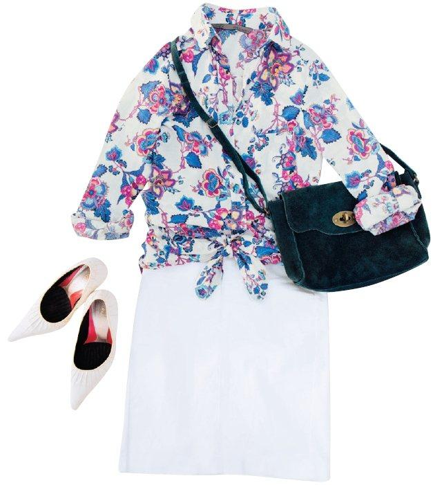 繪里沙的夏季穿搭。圖/幸福文化提供