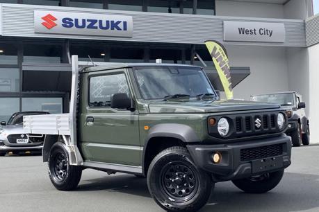 Suzuki Jimny變身皮卡 越野載貨都滿足