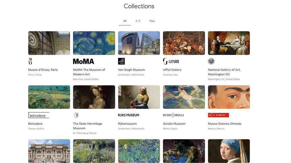 翻攝自Google Arts & Culture網站。