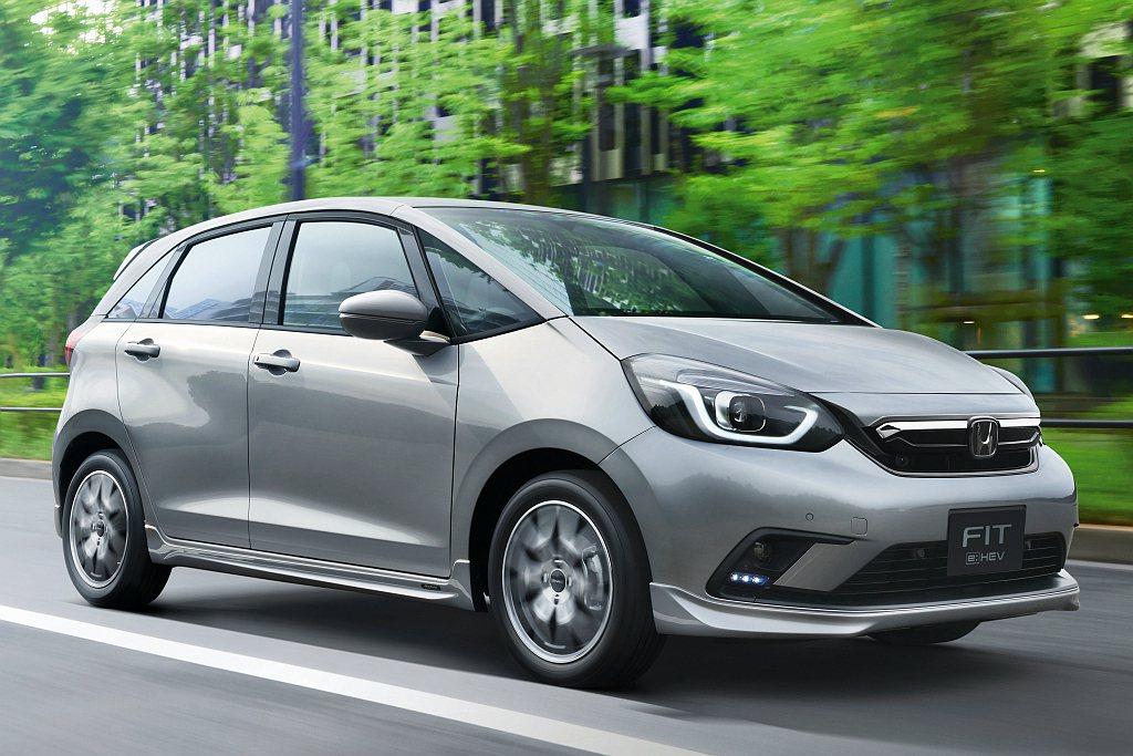全新第四代Honda Fit日本接單表現亮眼。 圖/Honda提供