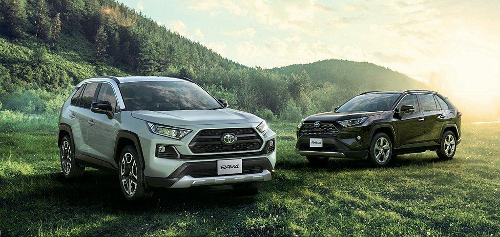 Toyota RAV4重返日本市場之後今年1月交車數達5,549輛,2月份更增加...