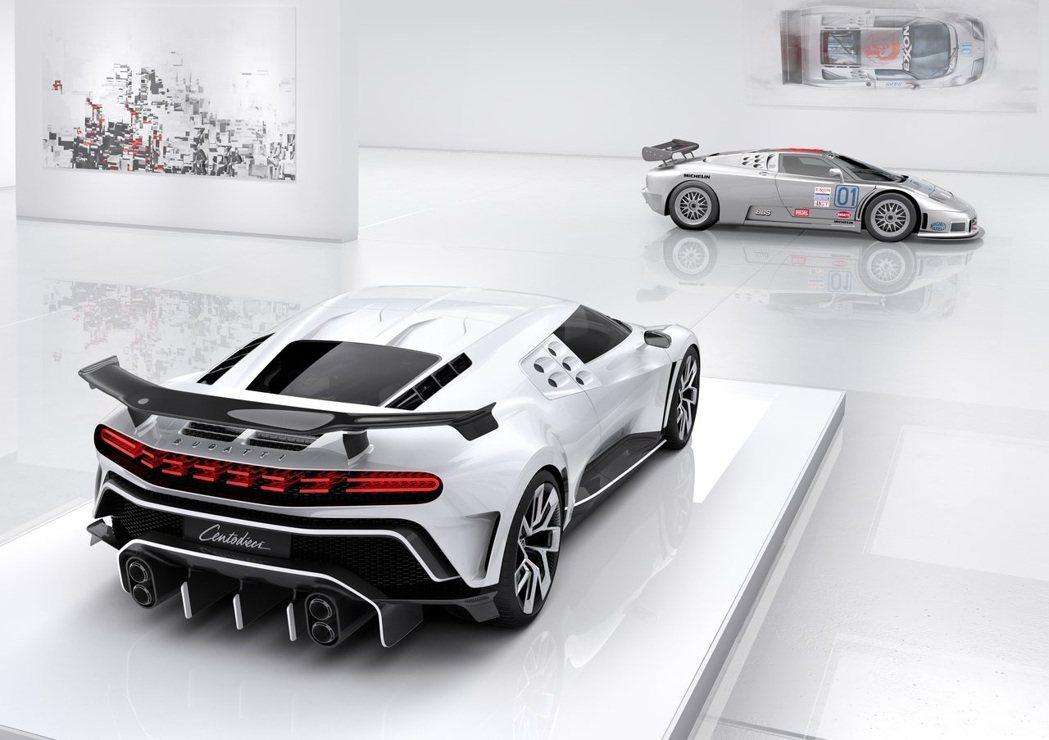 Bugatti Centodieci。 摘自Bugatti