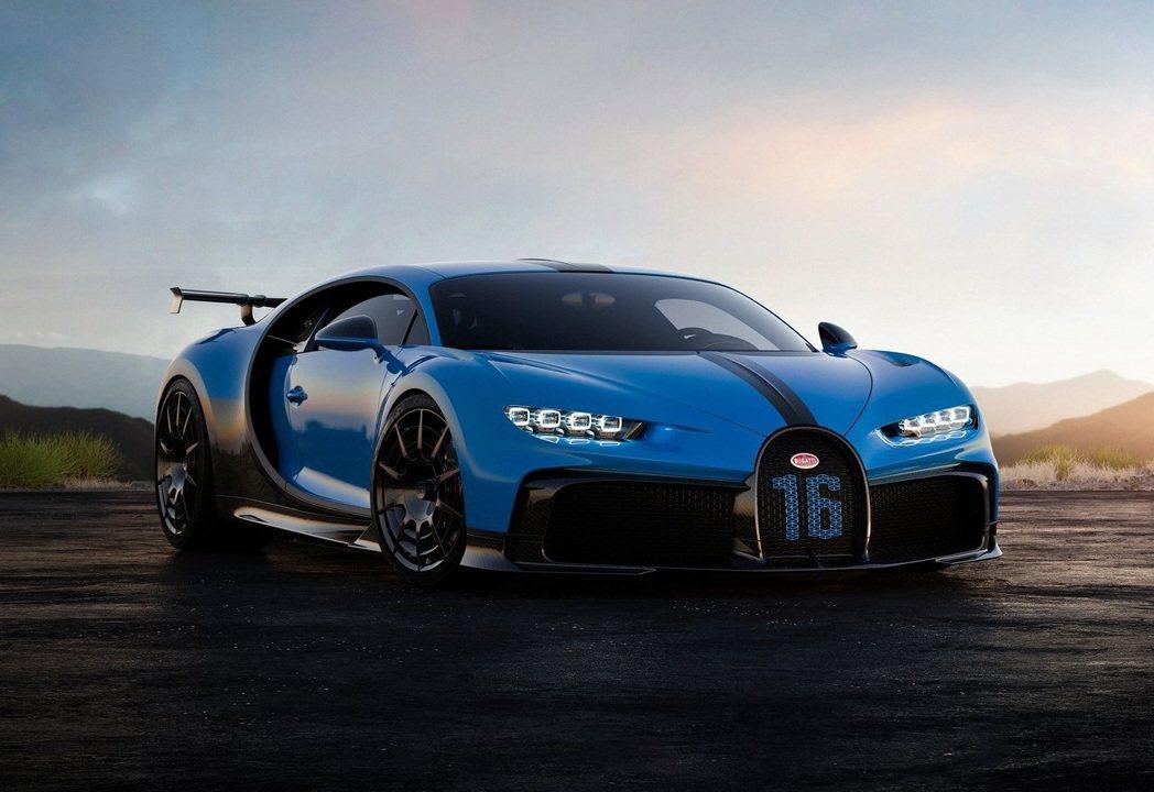 Bugatti Chiron Pur Sport。 摘自Bugatti