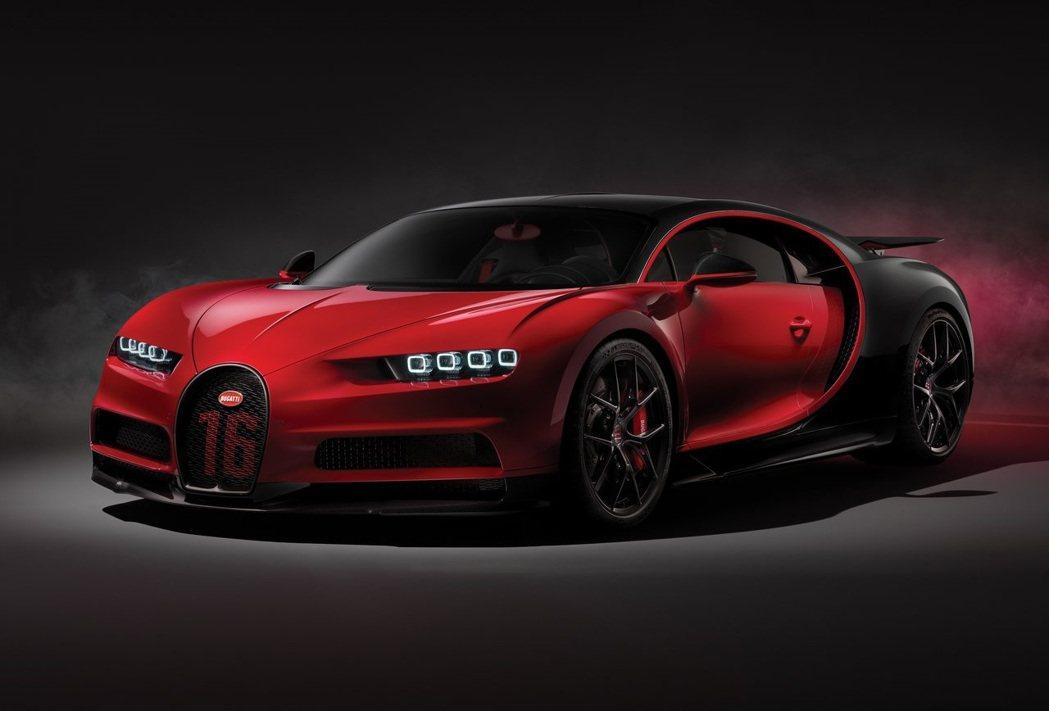 Bugatti Chiron Sport。 摘自Bugatti