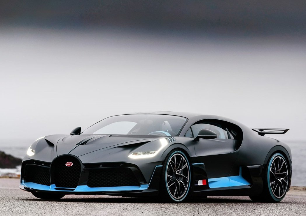 Bugatti Divo。 摘自Bugatti