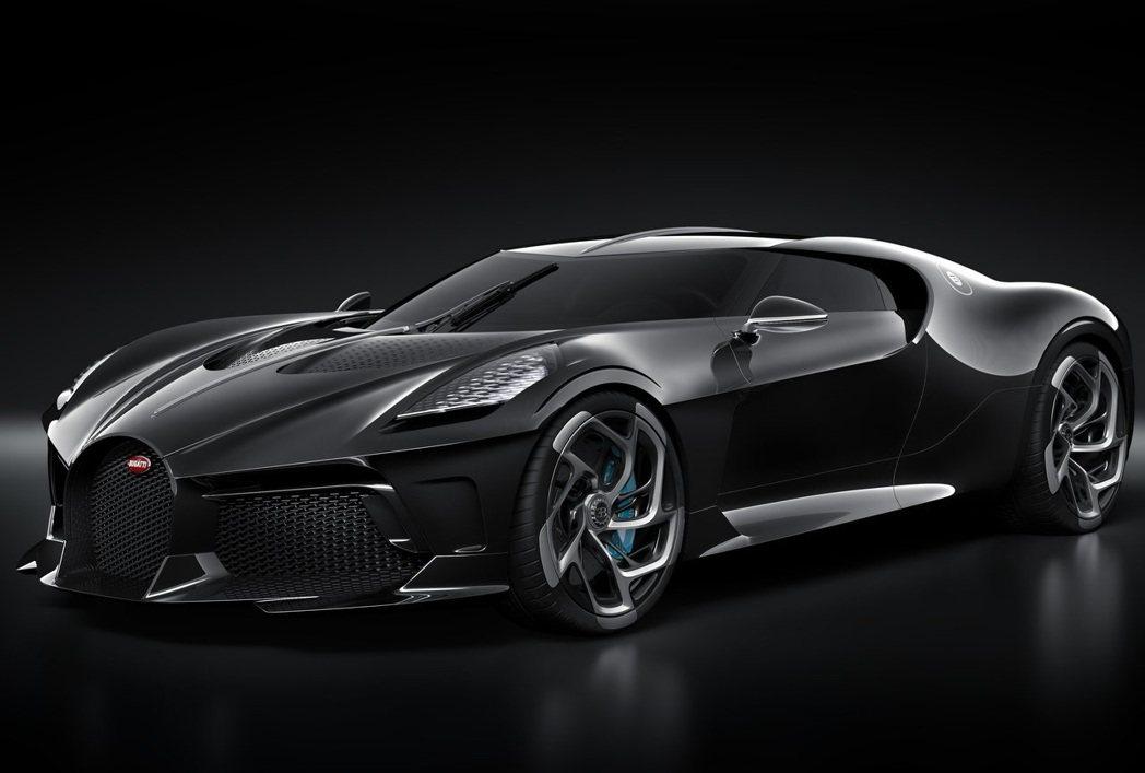Bugatti La Voiture Noire。 摘自Bugatti