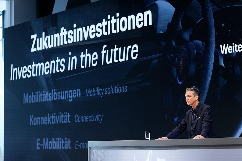 保時捷CFO Lutz Meschke表示:「儘管預計投注大量資源於產品線純電化...