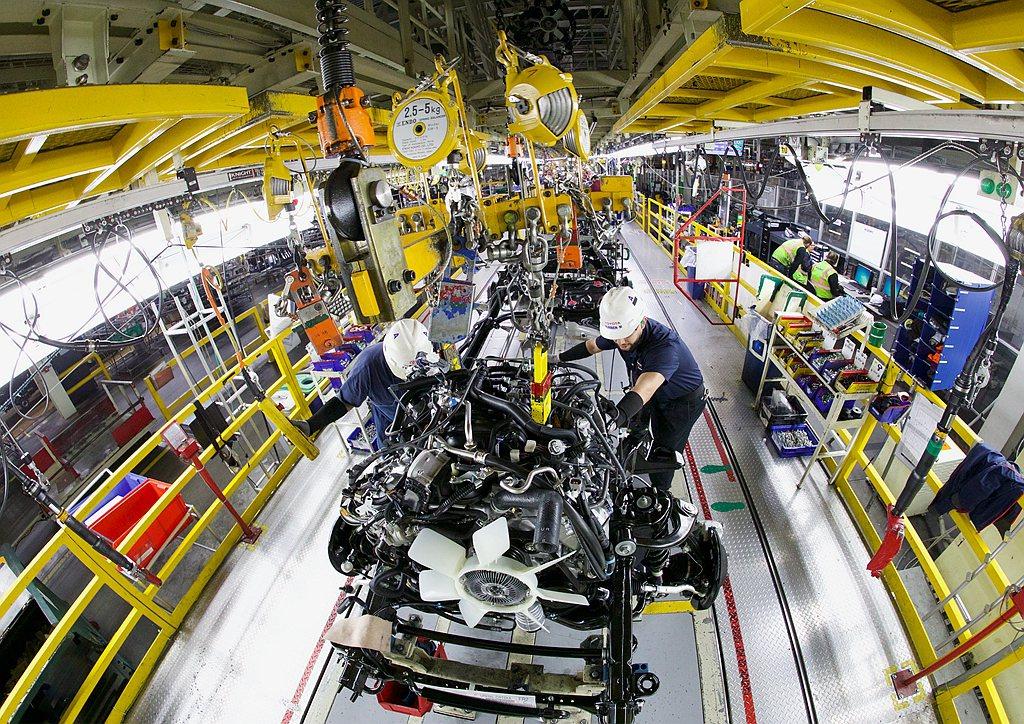 日本Toyota汽車集團宣布自4月3日起關閉愛知縣豐田市高岡工廠一號產線與堤工廠...