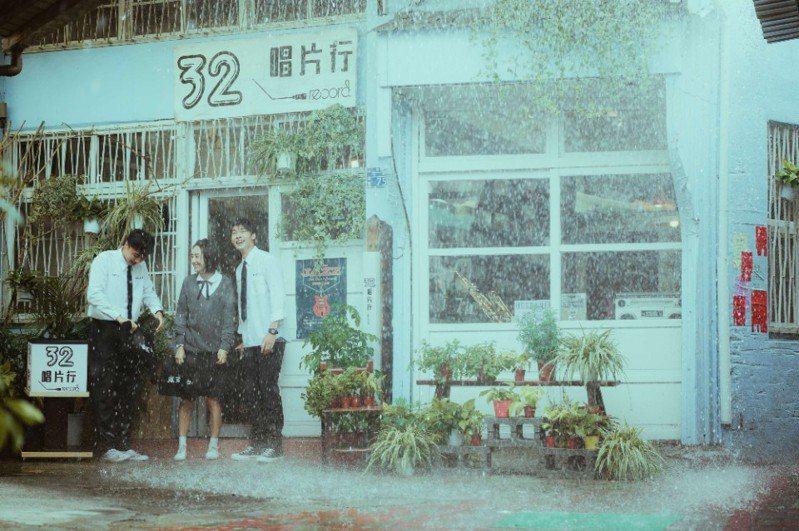 《想見你》32唱片行(中西區小半樓)劇照。(圖片提供/台南市政府觀光旅遊局)