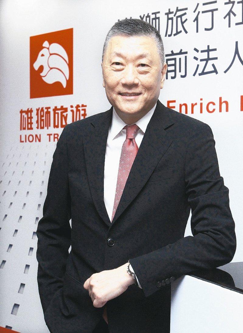 雄獅董事長王文傑。本報資料照片