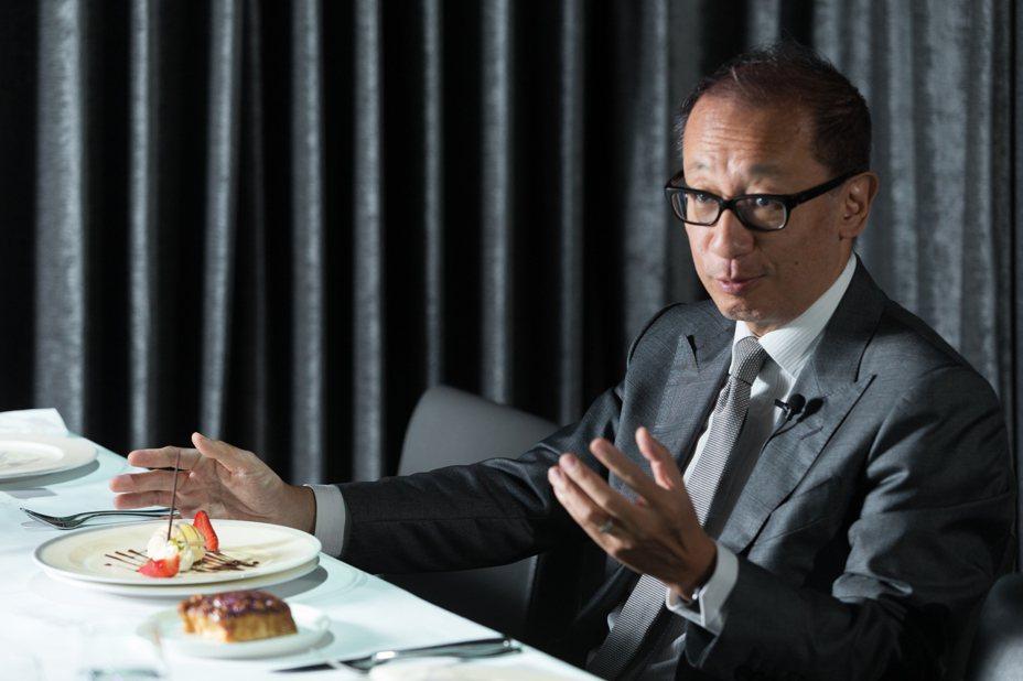 晶華酒店董事長潘思亮。本報資料照片