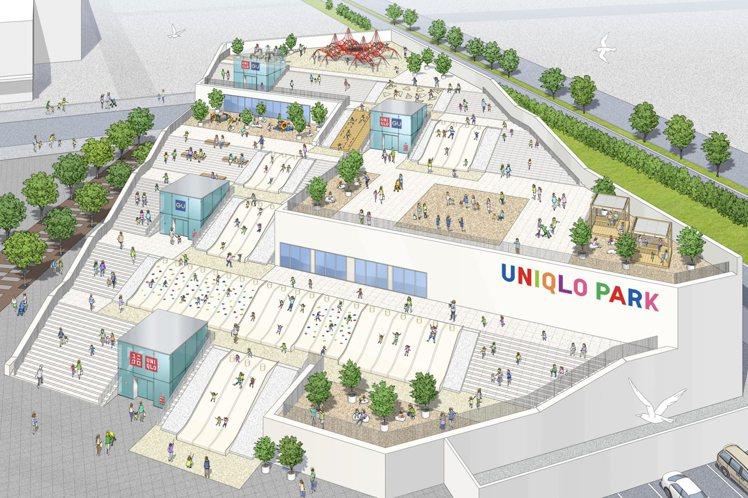 日本國民品牌UNIQLO將在4月,完成全球第一座的「UNIQLO Park」,以...