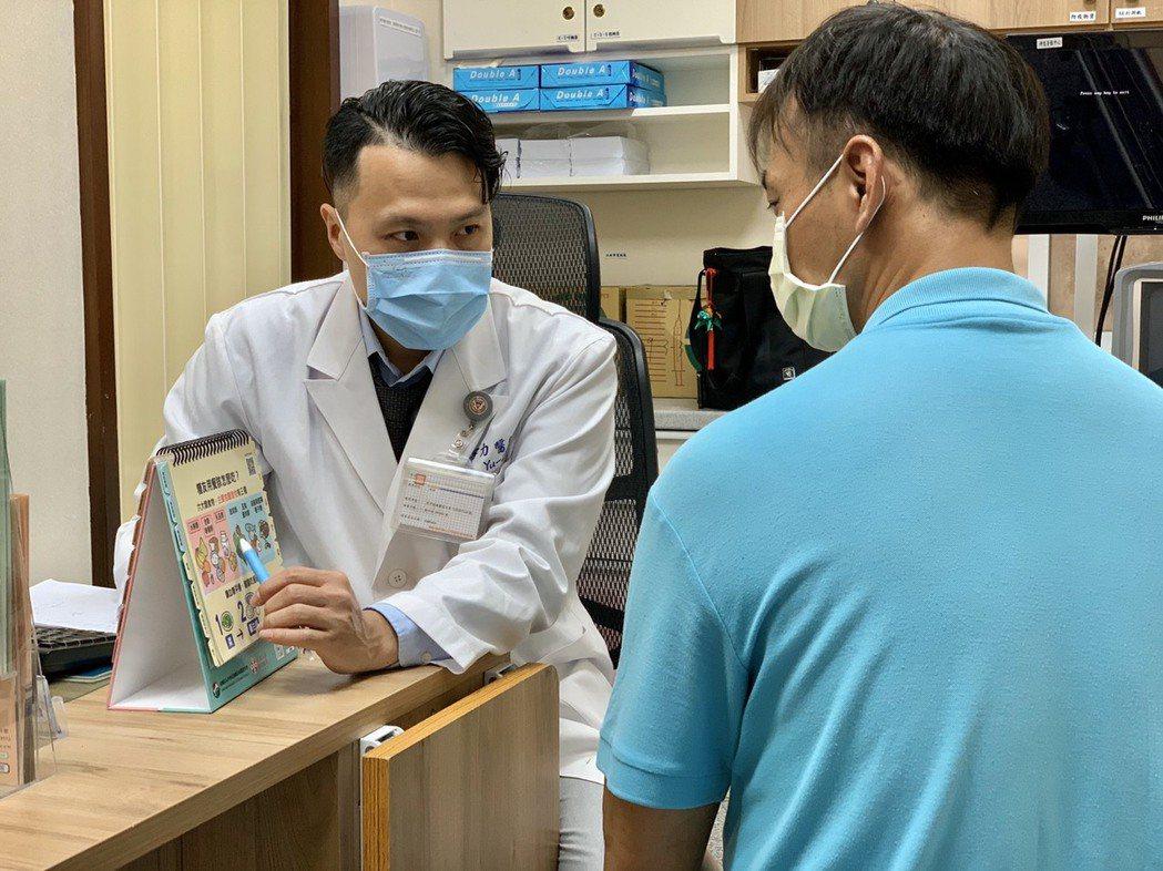 「活力得中山脊椎外科醫院」內科醫師李宇力。照片/業者提供